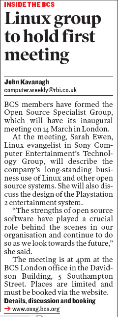 Computer Weekly Launch Meeting ad