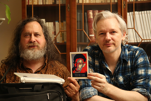 RMS and Assange